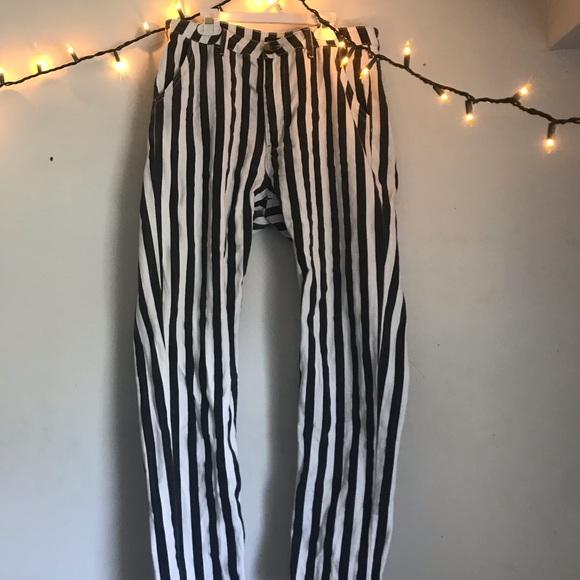 Boohoo Denim - Boohoo striped jeans